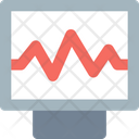 A Ecg Ecg Monitor Electrocardiogram Icon