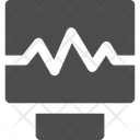 Ecg Monitor Electrocardiogram Cardiogram Icon