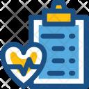 Ecg Report Electrocardiogram Icon