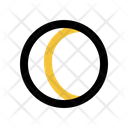 Eclipse Moon Weather Icon
