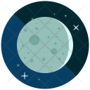 Waxing Crescent Eclipse Icon