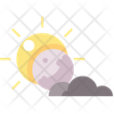 Eclipse Sun Night Icon