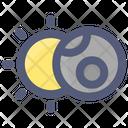 Space Sky Sun Icon