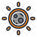 Eclipse Moon Sun Icon