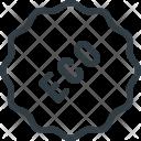 Eco Tag Bio Icon