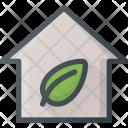 Eco Apartment House Icon