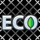 Eco Ecology Icon