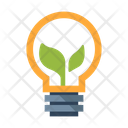 Eco Energy Bulb Icon