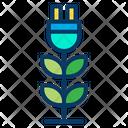 Eco Plant Ecology Environment Icon