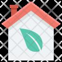 Eco House Ecological Icon