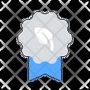 Eco Badge Icon