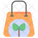 Eco Bag Recycle Bag Bag Icon