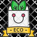 A Eco Bag Eco Bag Ecology Bag Icon