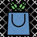 Eco Bag Shopping Bag Biodegradable Icon