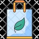 Eco Bag Recycle Bag Reusable Bag Icon