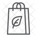 Eco Bag Cloth Tote Icon