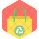 Eco Bag Biobag Reusable Bag Icon