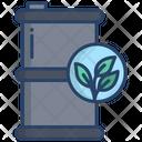 Eco Barrel Oil Barrel Oil Container Icon