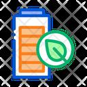 Electro Car Battery Icon