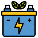 Eco Battery Battery Battery Level Icon