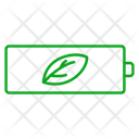 Battery Green Energy Icon