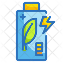 Eco Battery Battery Ecology Icon