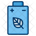 Eco Battery Battery Charging Energy Icon