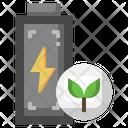 Eco Battery Eco Power Eco Energy Icon