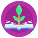 Ecology Book Eco Book Botany Book Icon