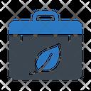 Eco Briefcase Icon