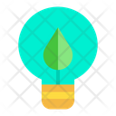 Eco Bulb Bulb Green Bulb Icon