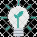 Eco Bulb Light Bulb Illumination Icon