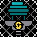 Eco Bulb Bulb Light Icon