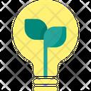 Eco Bulb Energy Icon
