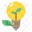 Bulb Eco Ecology Icon