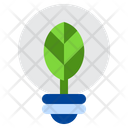 Eco Bulb Eco Power Icon