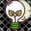 Eco Bulb Light Bulb Light Icon