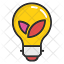 Eco Bulb Efficiency Icon