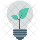 Bulb Light Eco Icon