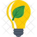 Eco Bulb Light Icon