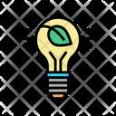 Eco Bulb Light Lightbulb Equipment Icon