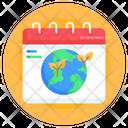 Eco Calendar Icon