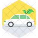 Eco Car Electric Car Electric Vehicle Icon