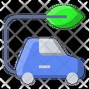 Eco Car Ecology Icon