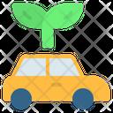 Car Eco Electric Icon