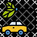 Eco Car Car Transportation Icon