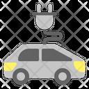 Eco Car Electric Car Ecology Icon