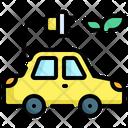 Eco Car Ecology And Environment Contamination Icon