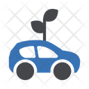 Eco Car Biofuel Eco Vehicle Icon