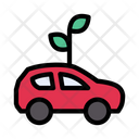 Biofuel Vehicle Eco Icon